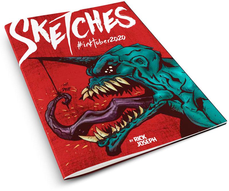 Cover of sketchbook