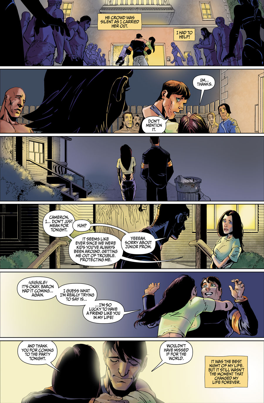Lettering Sample of CAMERON #1
